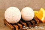 Dried Orange Peel Bath Bombs Recipe