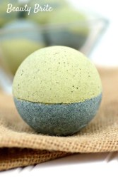 Spirulina Matcha Bath Bombs recipe