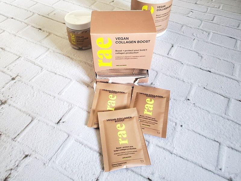 Vegan Collagen Boost Powder Sachets