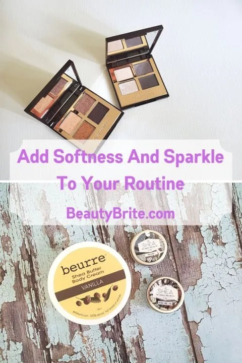 Add Softness And Sparkle To Your Routine