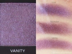 Urban Decay Vice 3 Palette Swatches (Vanity)