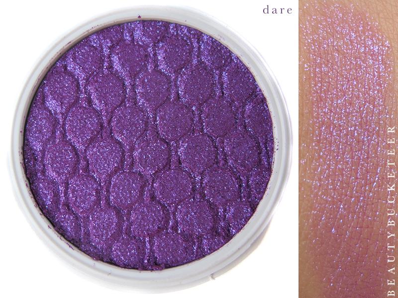 ColourPop Eyeshadows Swatch - Dare