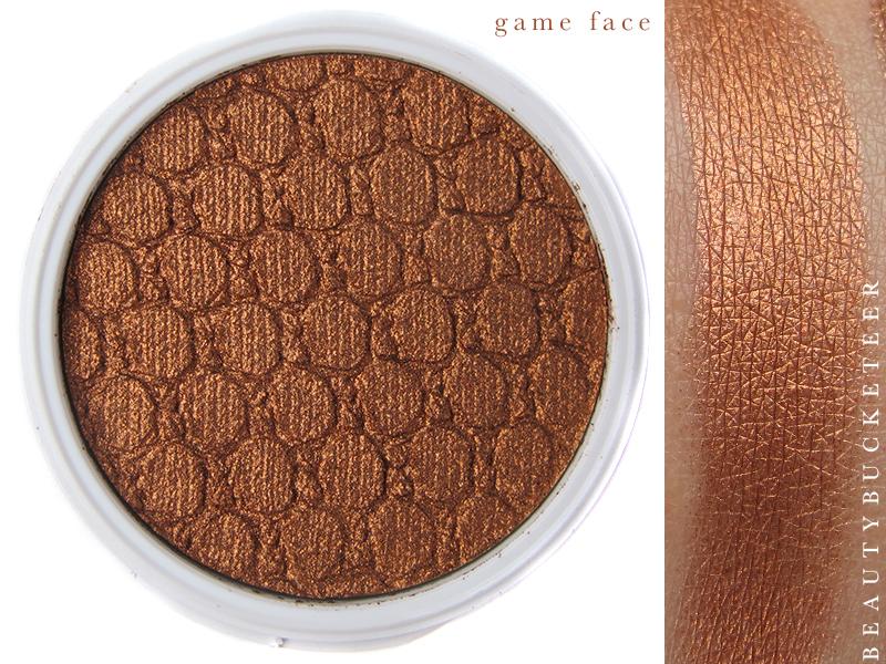 ColourPop Eyeshadows Swatch - Game Face