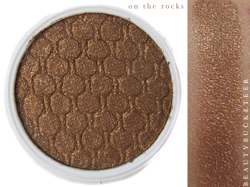 ColourPop Eyeshadows Swatch - On The Rocks