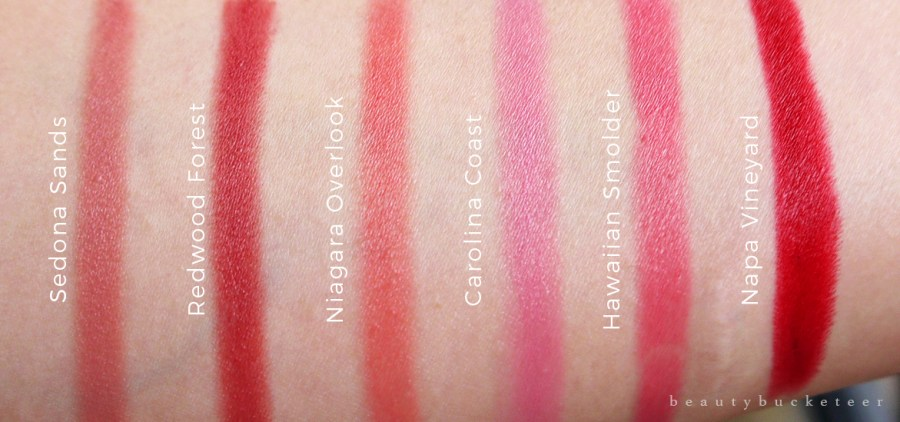 Burts Bees Lip Crayons Swatches (1)