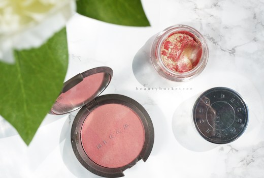 Becca Flowerchild Mineral Blush & Becca Shimmer Tint Watermelon Moonstone