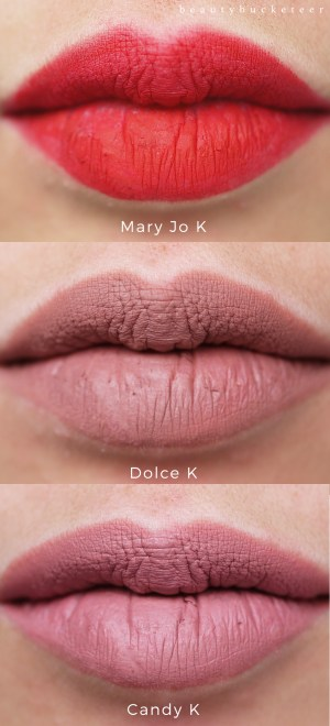Kylie Jenner Lip Kit Swatches (3)