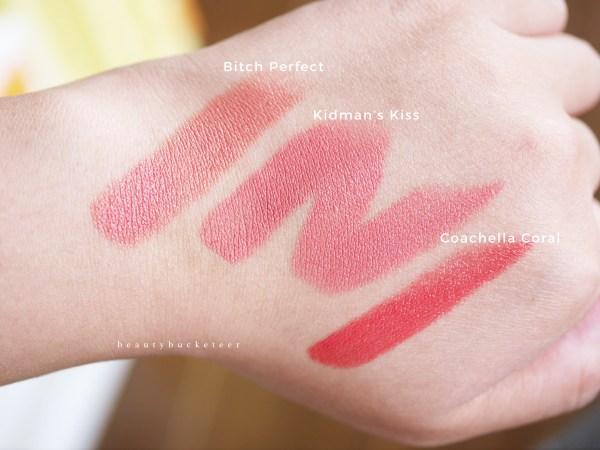Charlotte Tilbury Hot Lips Kidman's Kiss - Swatches (1)
