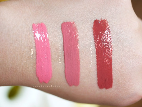 NYX Intense Butter Glosses - Swatches (1)