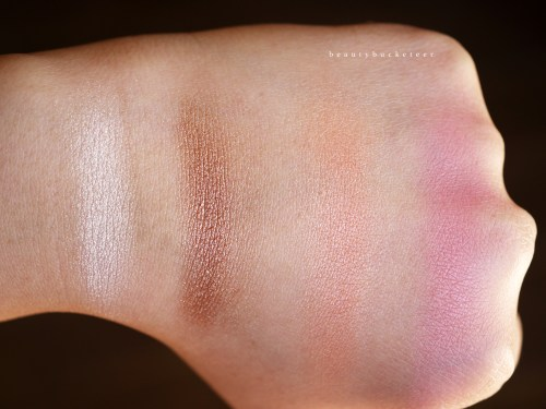 PONi Cosmetics Review - Swatches