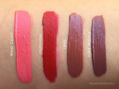 Beauty Bucketeer - Gerard Cosmetics Hydra Matte Liquid Lipsticks ...