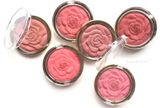 Milani Rose Powder Blushes