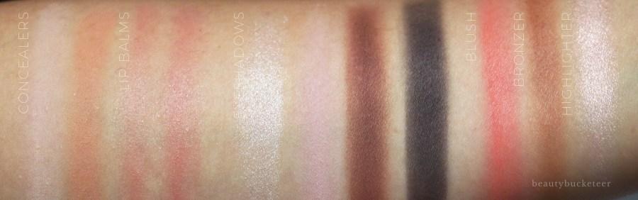 Maybelline Gigi Hadid Jetsetter Palette Swatches