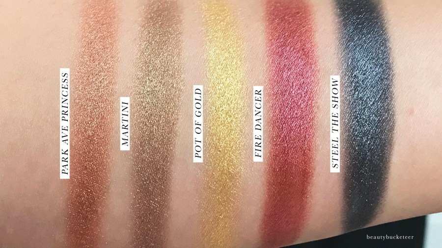 Tarte Chrome Paint Shadow Pots Swatches (1)