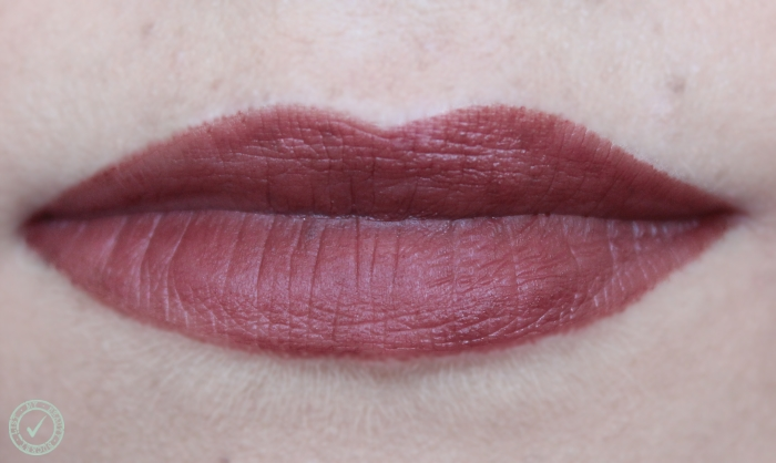 Rimmel The Only One Matte Look Who's Talking 750 swatch