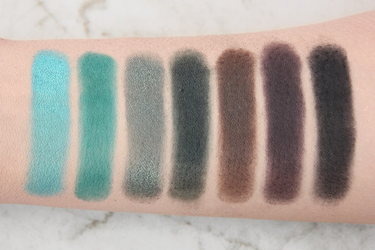 morphe jaclyn hill palette swatches
