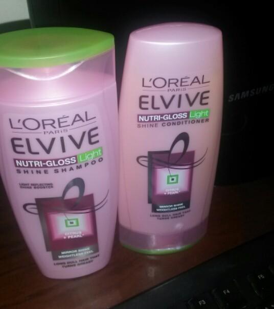 Loreal LOreal Elvive Nutri Gloss Shampoo Amp Conditioner