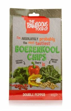 The Rawlicious Food Boerenkool Chips Double Pepper