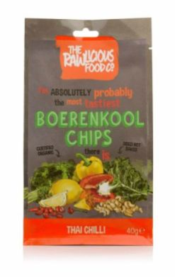 The Rawlicious Food Boerenkool Chips Thai Chilli
