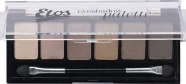 Eyeshadow Palette Nude Open