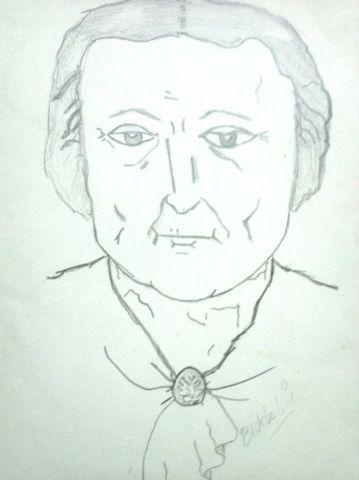 oma tekening