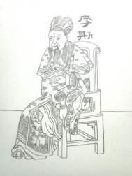 tekening babs japanse man 1