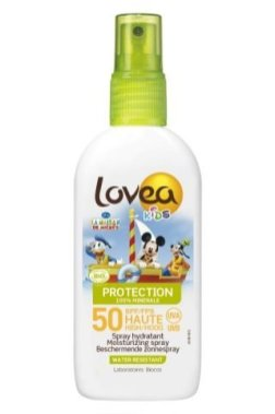 LOVEA KIDS -Spray SPF 50-HIGH PROTECTION - Organic - 100ml - Mickey