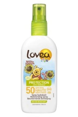 LOVEA KIDS -Spray SPF 50-HIGH PROTECTION - Organic - 100ml- Winnie
