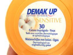 demake up schijfjes lotion