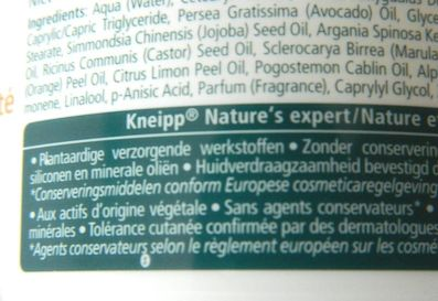 kneipp beautygeheim body creme 1