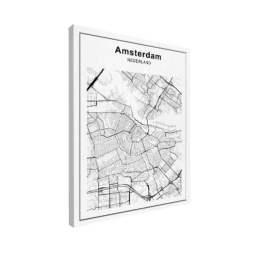 amsterdam-stadskaart-zwart-wit-op-canvas