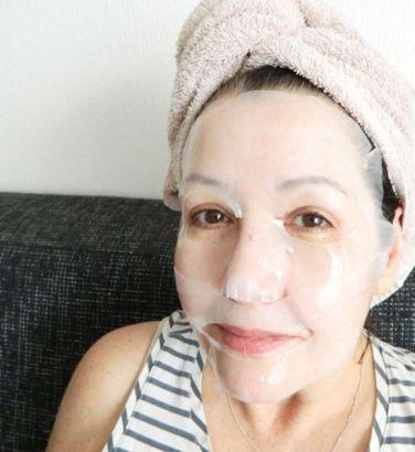 gold collagen sheet mask