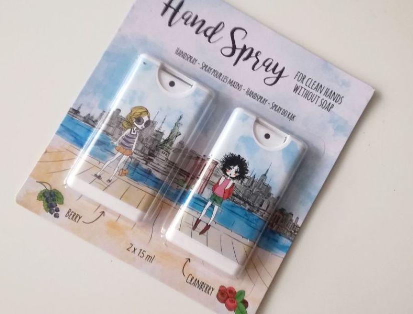 handspray action