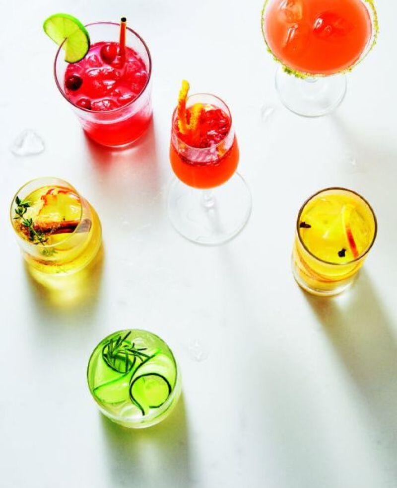 Cranberry-mule-cocktails