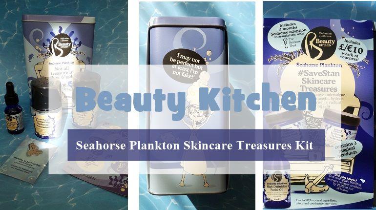 Beauty Kitchen Seahorse Plankton Skincare Treasures Kit u