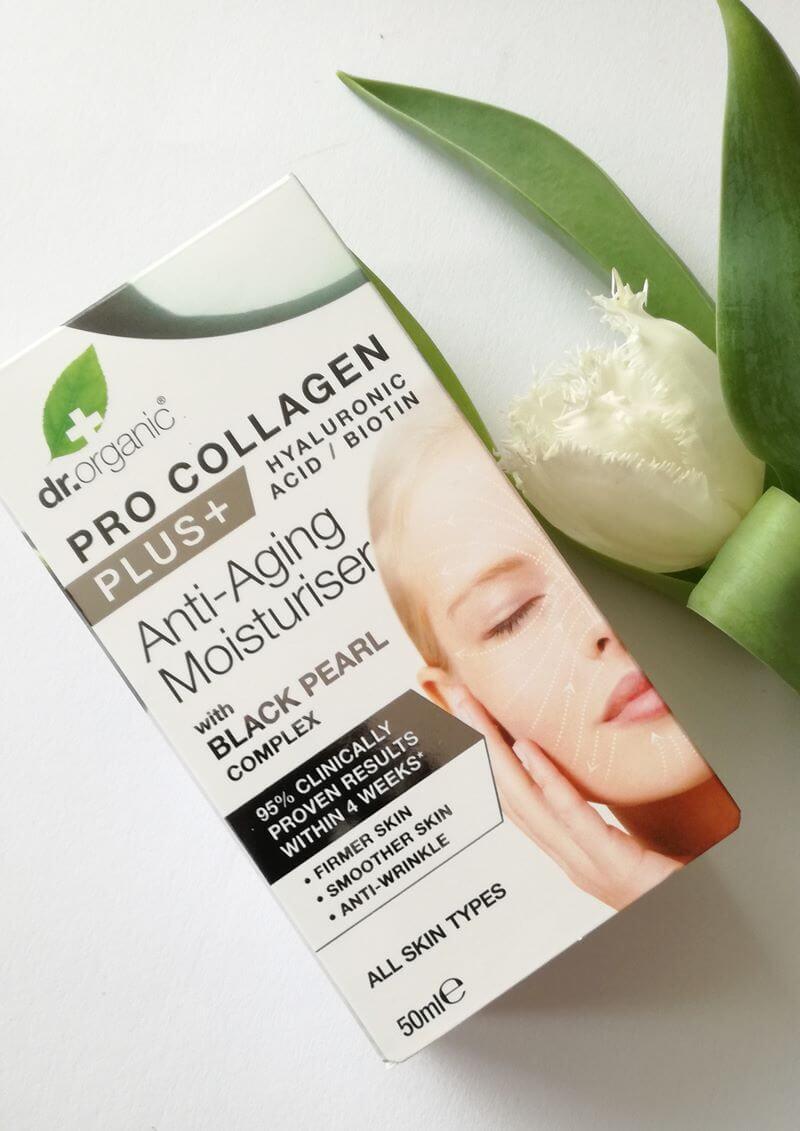 Dr. Organic Pro Collagen+ Moisturisers Black Pearl