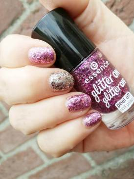 essence glitter on glitter off