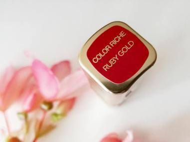 lipstick ruby gold
