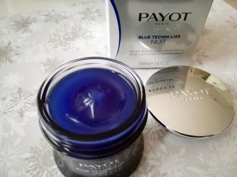 Payot Blue Techni Liss nightcream