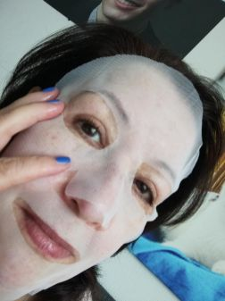 Payot Blue Techni Liss mask