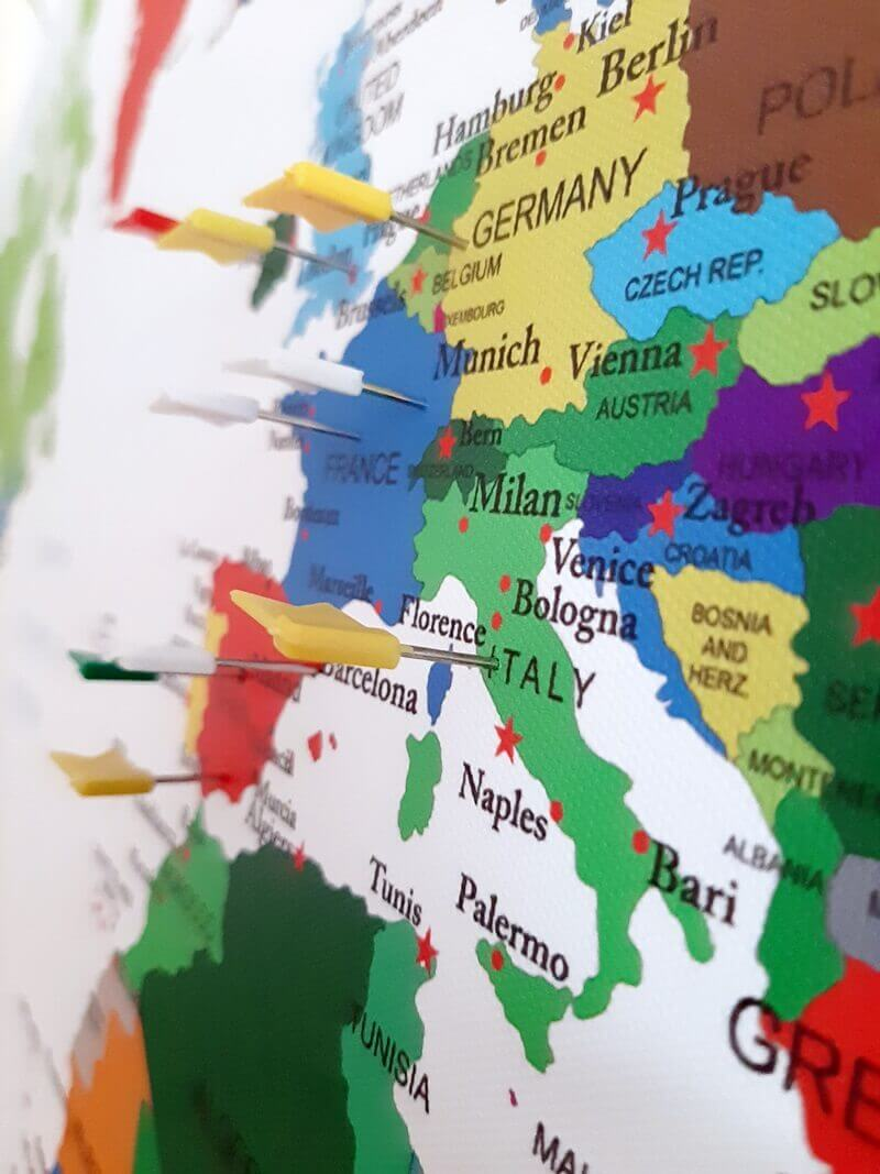 Wereldkaart? Check! Koffer? Check! Ga je mee op Reis? 15 wereldkaart Wereldkaart? Check! Koffer? Check! Ga je mee op Reis?
