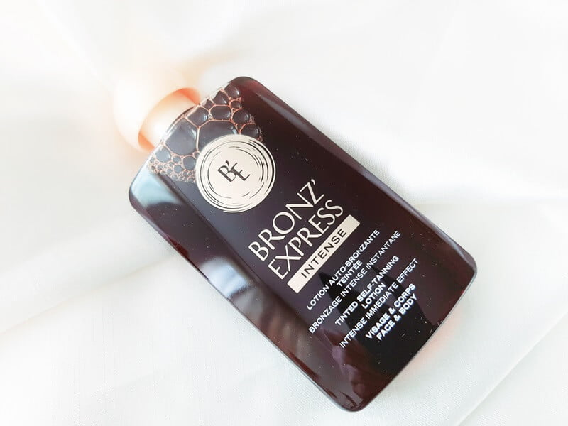 Review Bronz' Express Tinted Self-Tanning Lotion 15 bronzexpress Review Bronz' Express Tinted Self-Tanning Lotion