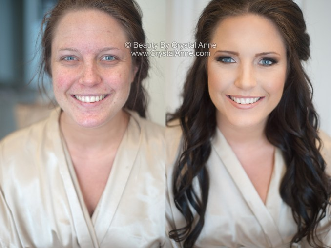 airbrush makeup makeovers for wedding party - houston hair