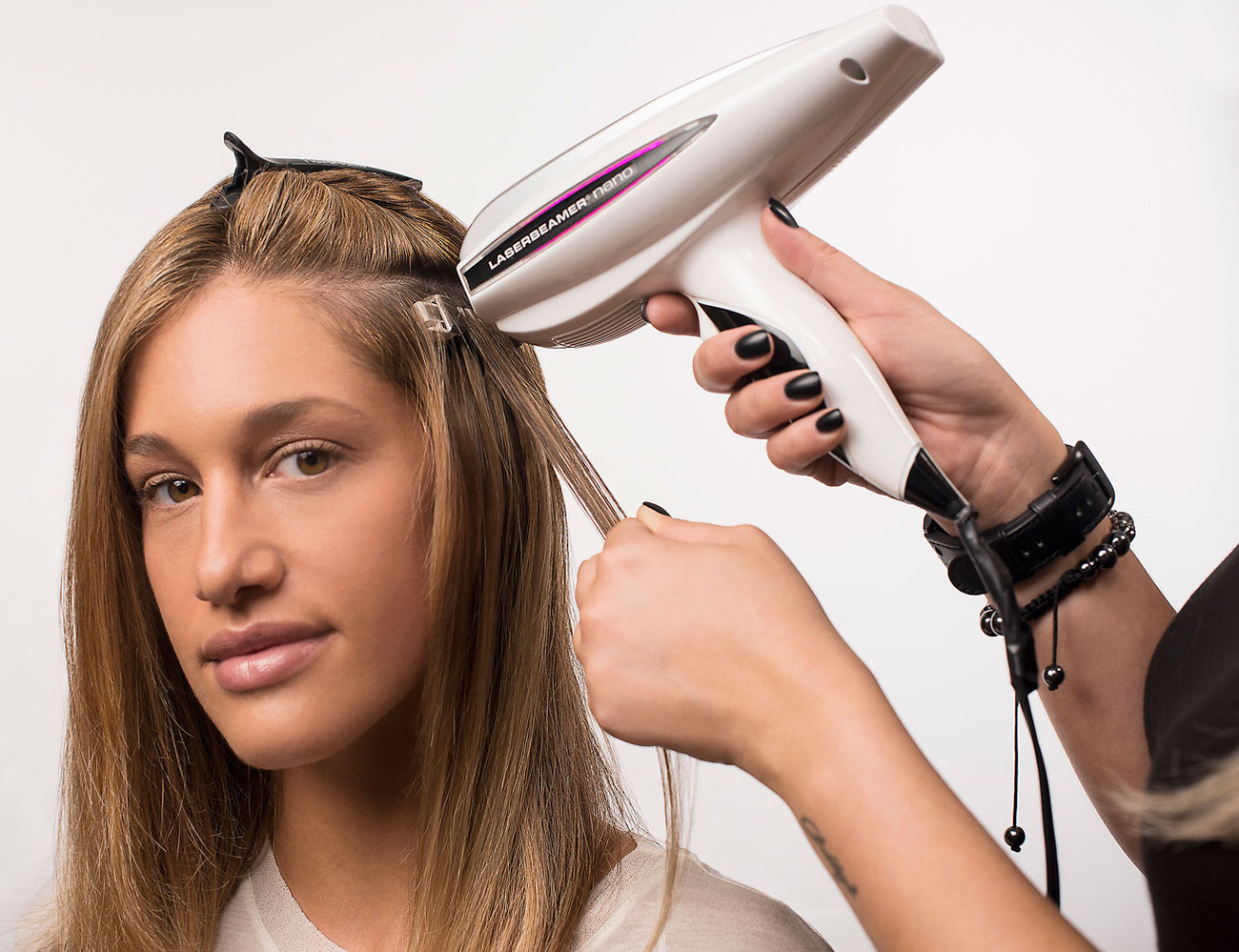 Hair Extension Application Process Using Hairdreams Hair