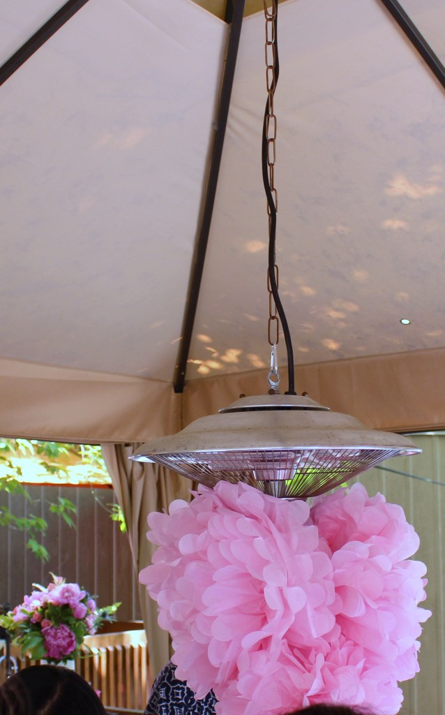 Pretty pink details for a good cause at the Pink The Town Pink Garden Party