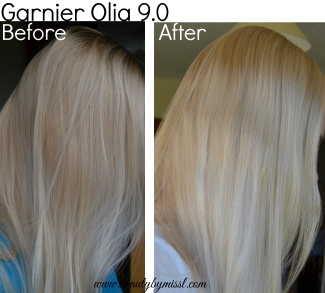 Garnier Olia Before After Beauty By Miss L