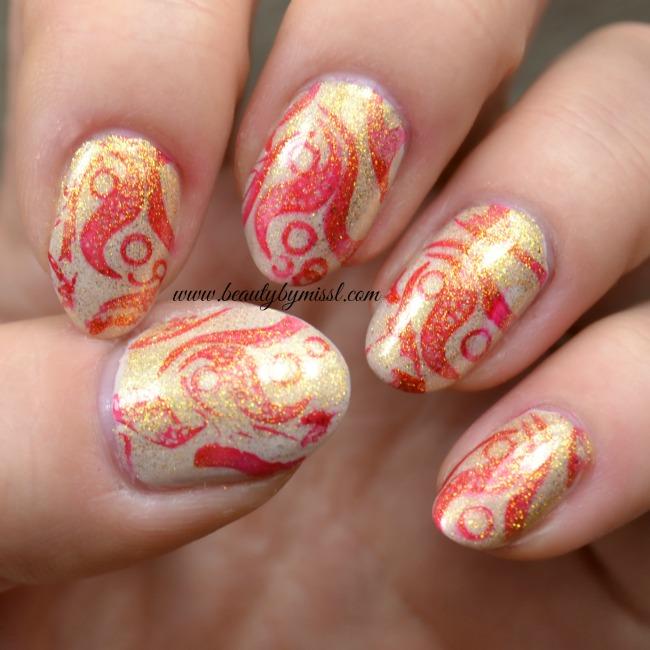 #12daysofchristmasnailart nail