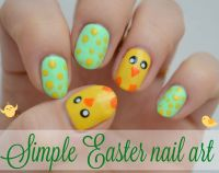 Easy Easter Nail Art | www.imgkid.com - The Image Kid Has It!