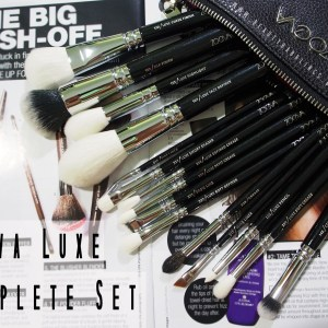 ZOEVA COMPLETE LUXE BRUSH SET REVIEW