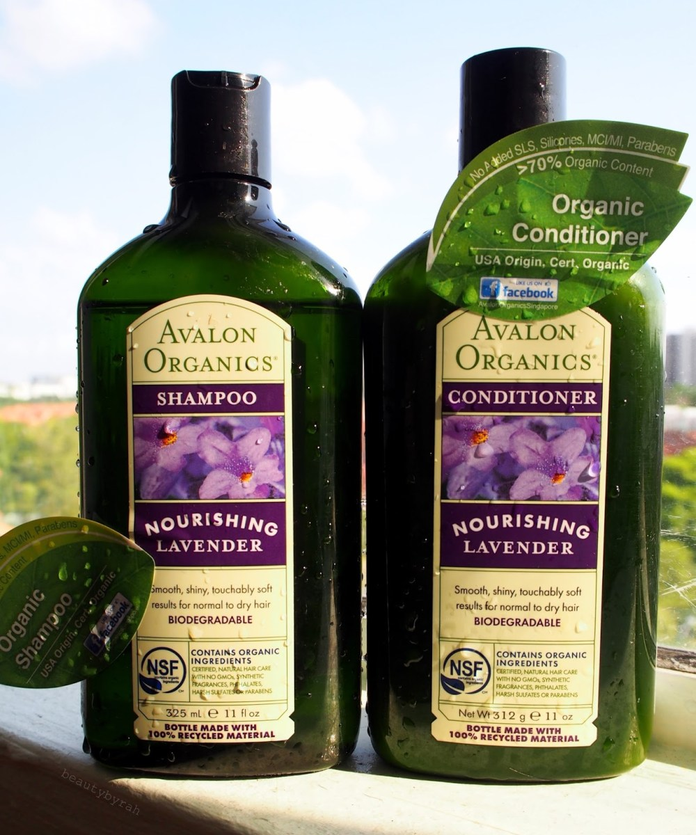 Avalon organics shampoo and conditioner review